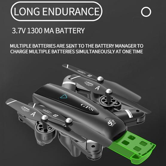 S167 2.4G 1080P WIFI Foldable GPS Positioning Remote Control Aircraft RC Quadcopter Drone - 14