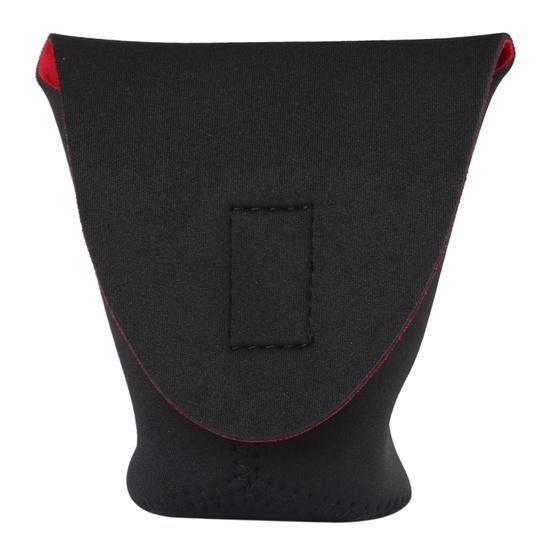 Protective Camera Lens Bag SLR Camera Lens Package Thickening Shockproof Neoprene Lens Storage Bag Sticky Deduction 130mm Diameter 80mm Height