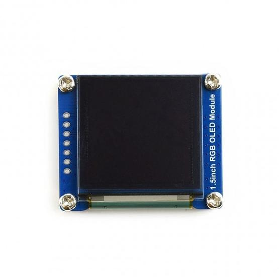 WAVESHARE 128x128 General 1 5inch RGB OLED Display Module 16-bit High Color  with SPI Interface