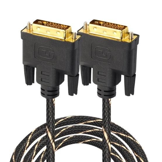 DVI 24 + 1 Pin Male to DVI 24 + 1 Pin Male Grid Adapter Cable(3m) - 1