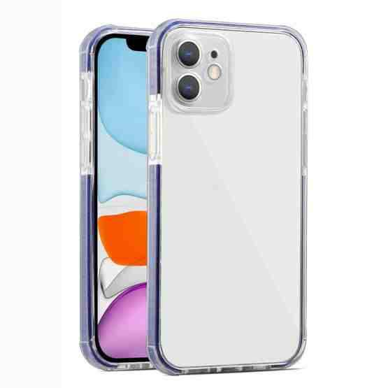 Colorful Series Shockproof Scratchproof TPU + Acrylic Protective Case For iPhone 11 Pro(Dark Blue) - 1
