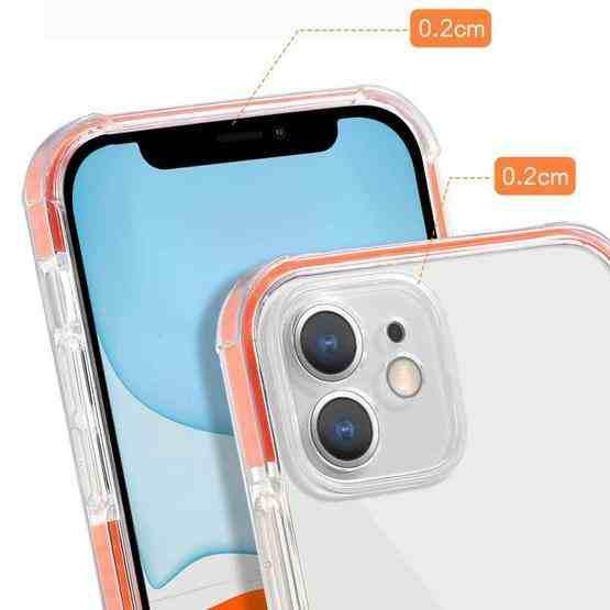 Colorful Series Shockproof Scratchproof TPU + Acrylic Protective Case For iPhone 11 Pro(Dark Blue) - 3