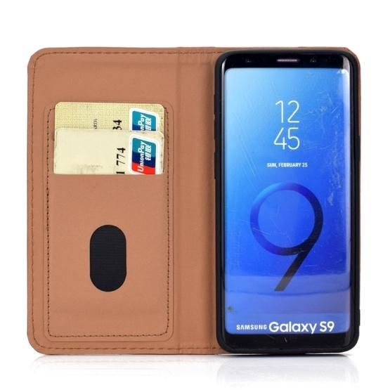 For Galaxy S9 3D Painting Horizontal Flip Leather Case with Holder & Card Slot & Wallet & Lanyard(Cat) - 5