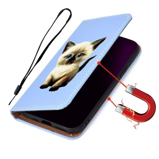 For Galaxy S9 3D Painting Horizontal Flip Leather Case with Holder & Card Slot & Wallet & Lanyard(Cat) - 8