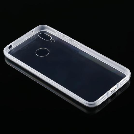 For Huawei Y7 2019 PC+TPU Ultra-Thin Double-Sided All-Inclusive Transparent Case - 2