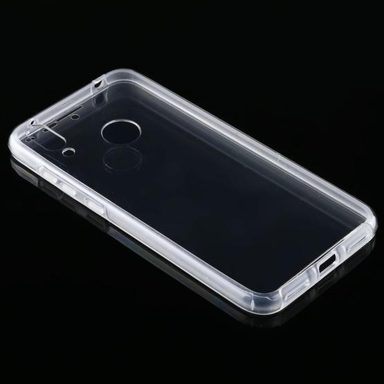For Huawei Y7 2019 PC+TPU Ultra-Thin Double-Sided All-Inclusive Transparent Case - 3