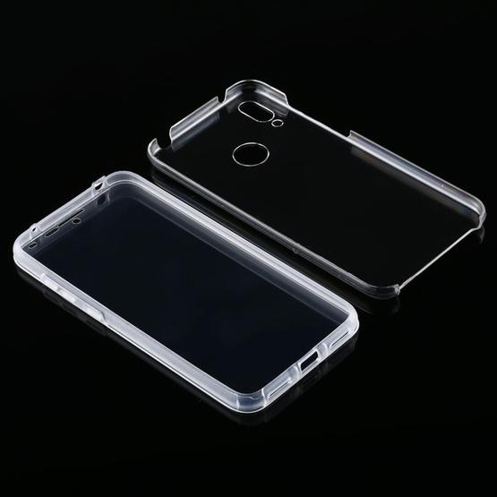 For Huawei Y7 2019 PC+TPU Ultra-Thin Double-Sided All-Inclusive Transparent Case - 4