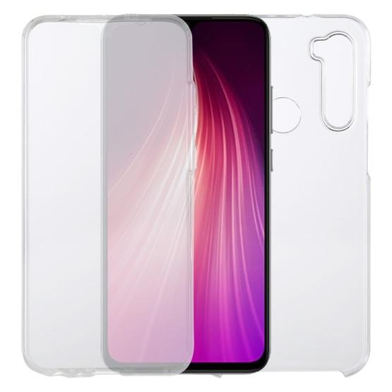 For Xiaomi Redmi Note 8T PC+TPU Ultra-Thin Double-Sided All-Inclusive Transparent Case - 1