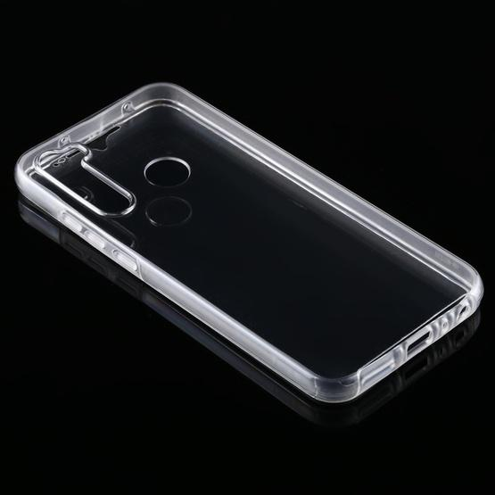 For Xiaomi Redmi Note 8T PC+TPU Ultra-Thin Double-Sided All-Inclusive Transparent Case - 3