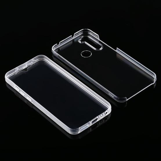 For Xiaomi Redmi Note 8T PC+TPU Ultra-Thin Double-Sided All-Inclusive Transparent Case - 4