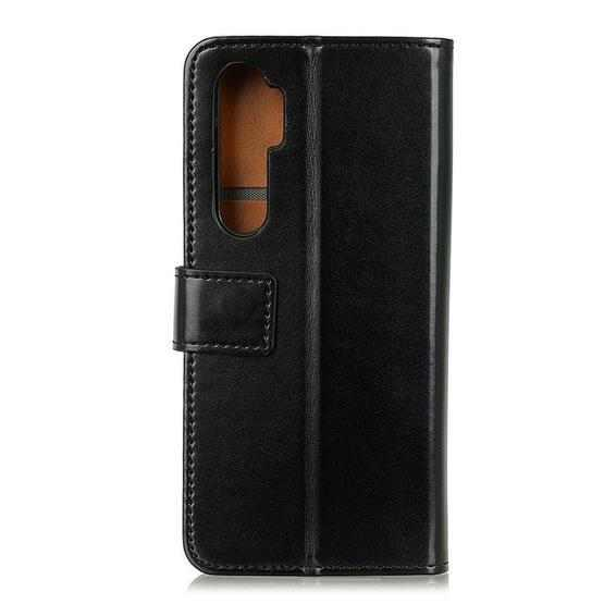 For OnePlus Nord 3-Color Pearl Texture Magnetic Buckle Horizontal Flip PU Leather Case with Card Slots & Wallet & Holder(Black) - 2