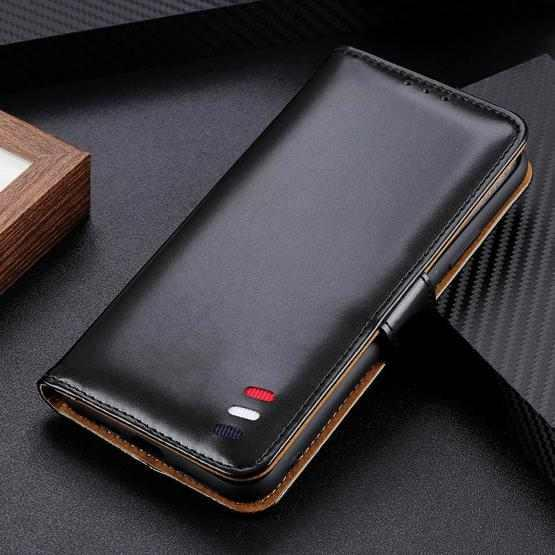 For OnePlus Nord 3-Color Pearl Texture Magnetic Buckle Horizontal Flip PU Leather Case with Card Slots & Wallet & Holder(Black) - 5