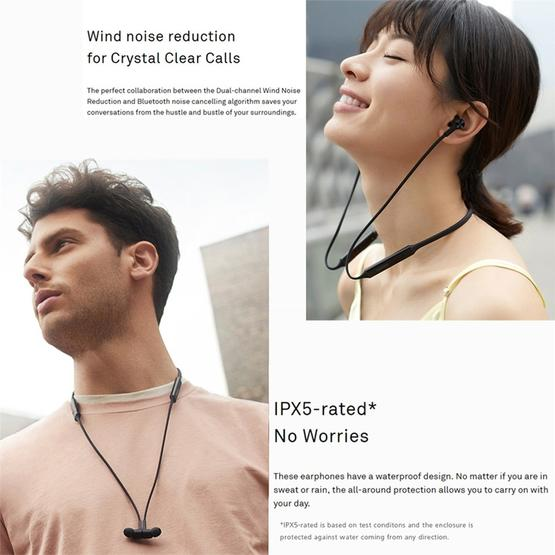 Huawei FreeLace Bluetooth 5 0 Waterproof Hanging Neck Sports In-ear  Bluetooth Headset(Orange)