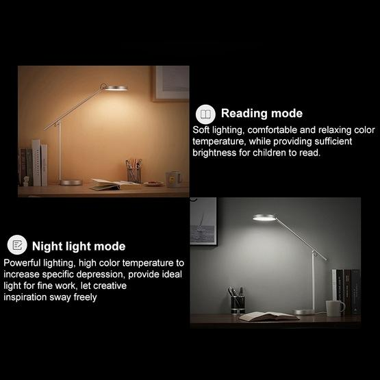 Original Huawei Smart Eye-protection Desk Lamp Pro Anti-blue Light Automatic Dimming Student Reading and Writing Table Light(Silver) - 6