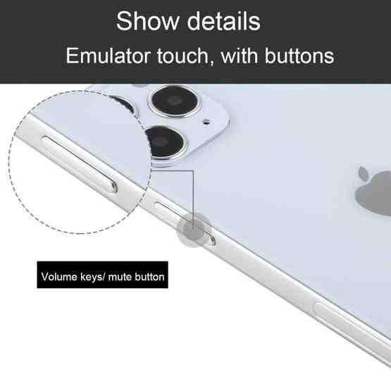 Color Screen Non-Working Fake Dummy Display Model for iPhone 12 Pro (6.1 inch)(Silver) - 1