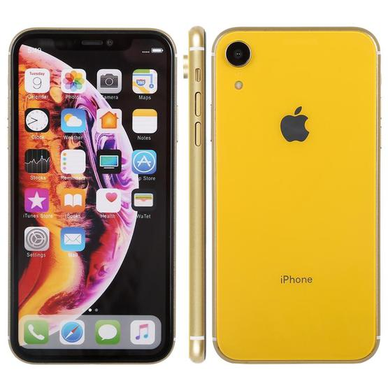 Color Screen Non-Working Fake Dummy Display Model for iPhone XR (Yellow) - 1
