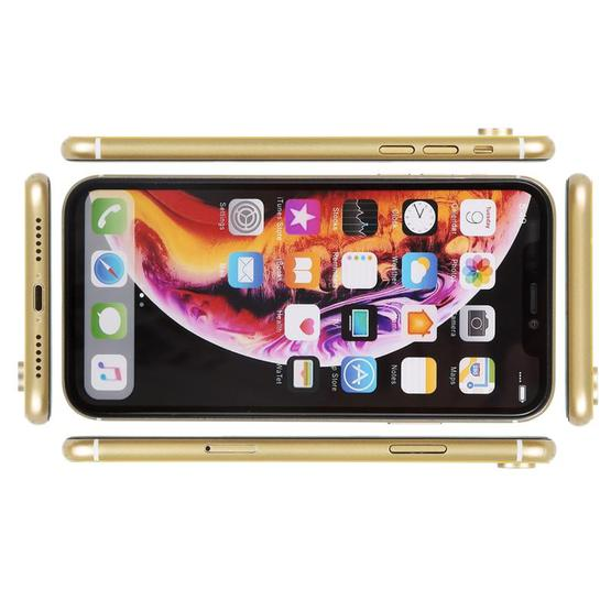 Color Screen Non-Working Fake Dummy Display Model for iPhone XR (Yellow) - 3