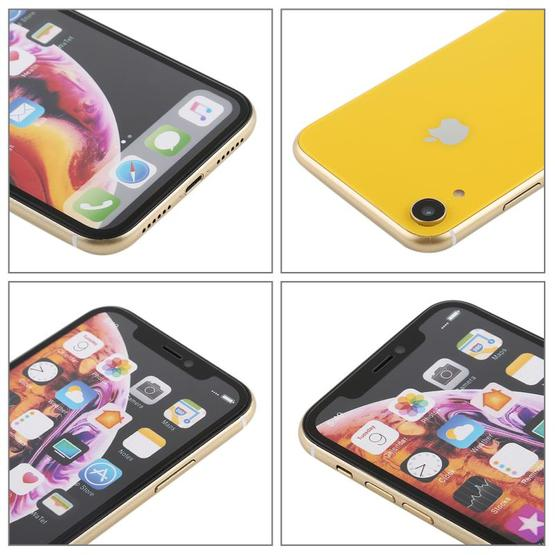 Color Screen Non-Working Fake Dummy Display Model for iPhone XR (Yellow) - 4