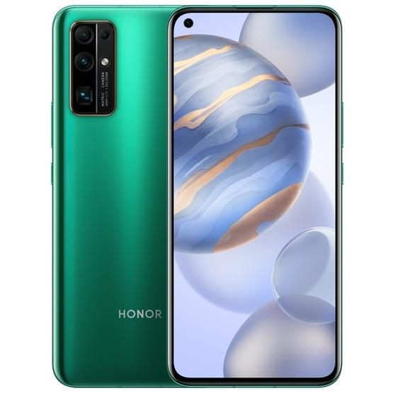 Huawei Honor 30 BMH-AN10 5G, 8GB+128GB, China Version, Quad Back Cameras, Face ID / Screen Fingerprint Identification, 4000mAh Battery, 6.53 inch Magic UI 3.1.1 (Android 10.0) HUAWEI Kirin 985 Octa Core up to 2.58GHz, Network: 5G, OTG, NFC, Not Support Google Play(Emerald) - 1