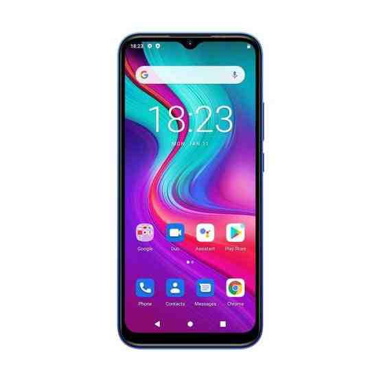 [HK Warehouse] DOOGEE X96 Pro, 4GB+64GB, Quad Back Cameras, 5400mAh Battery, Rear-mounted Fingerprint Identification, 6.52 inch Water-drop Screen Android 11.0 SC9863A OCTA-Core up to 1.6GHz, Network: 4G, OTG, Dual SIM (Blue) - 2