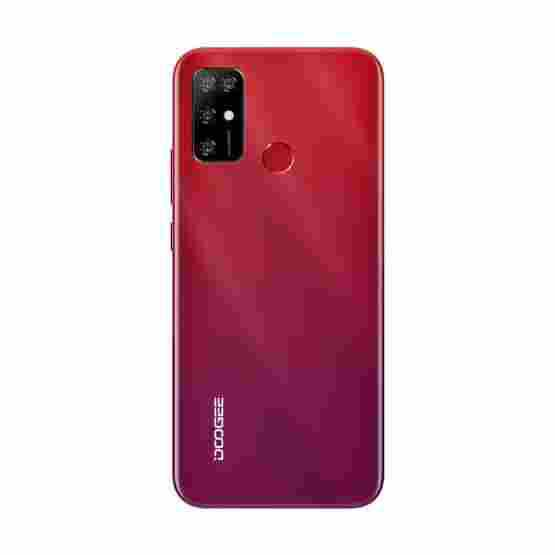 [HK Warehouse] DOOGEE X96 Pro, 4GB+64GB, Quad Back Cameras, 5400mAh Battery, Rear-mounted Fingerprint Identification, 6.52 inch Water-drop Screen Android 11.0 SC9863A OCTA-Core up to 1.6GHz, Network: 4G, OTG, Dual SIM (Red) - 2