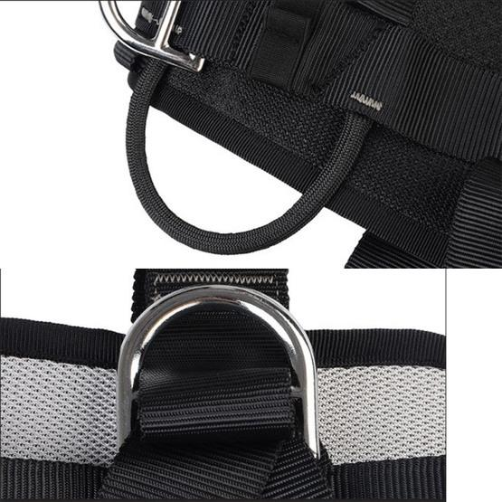 XINDA XD-6503 Outdoor Rock Climbing Polyester High-strength Wire Downhill Whole Body Safety Belt - 3