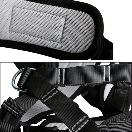XINDA XD-6503 Outdoor Rock Climbing Polyester High-strength Wire Downhill Whole Body Safety Belt - 5