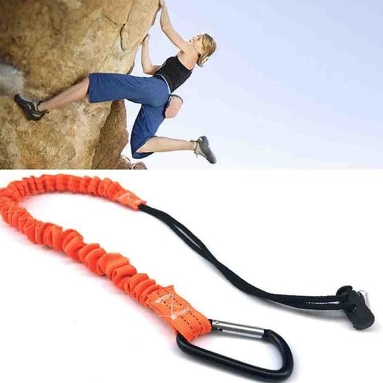 Rock Climbing Mountaineering Crushproof Buffer Tool Safety Rope Air Tool Bungee Cords - 1