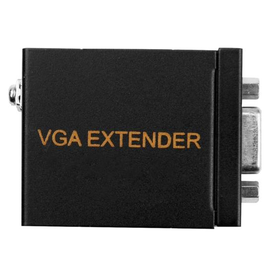 VGA Signal to RJ45 Signal Extender Transmitter + Receiver Converter Ethernet Cable, Transmission Distance: 60m - 2