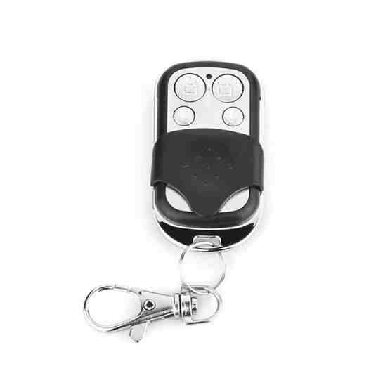 DY-YK100D 12V 433MHZ / 315MHZ Metal Wireless Remote Control for Alarm(Black) - 1