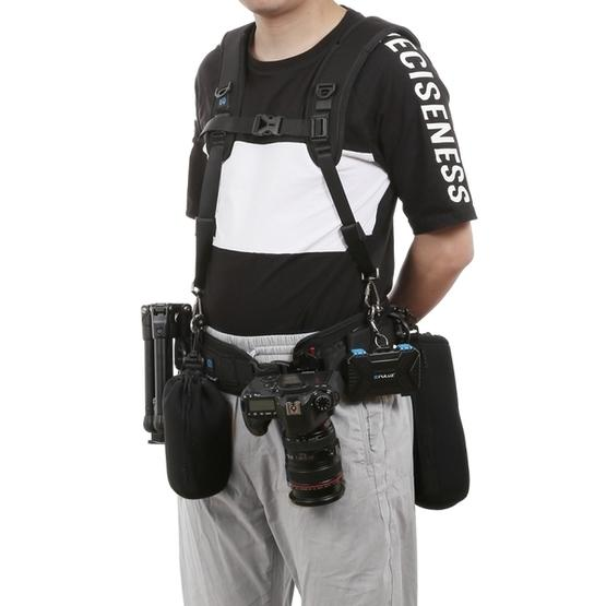 PULUZ Multi-Functional Bundle Waistband Strap Belt with Hook for SLR//DSLR Cameras