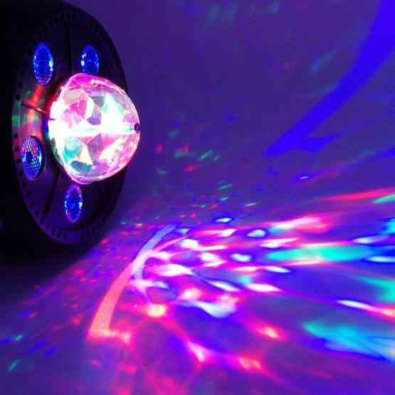 11W 5 LEDs Colorful Rotating Magic Ball LED PAR Light - 4