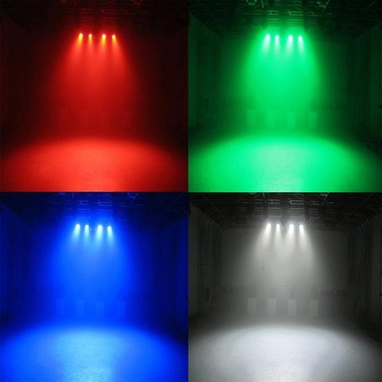 3W Colorful LED PAR Light , 6 LEDs Auto Run / Sound Control LED Stage Light, AC 85-260V, US/EU Plug - 9