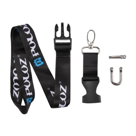 PULUZ 60cm Detachable Long Neck Strap Lanyard Sling for GoPro NEW HERO /HERO7 /6 /5 /5 Session /4 Session /4 /3+ /3 /2 /1, DJI Osmo Action, Xiaoyi and Other Action Cameras - 5