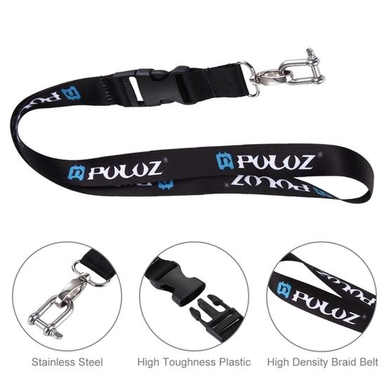 PULUZ 60cm Detachable Long Neck Strap Lanyard Sling for GoPro NEW HERO /HERO7 /6 /5 /5 Session /4 Session /4 /3+ /3 /2 /1, DJI Osmo Action, Xiaoyi and Other Action Cameras - 9