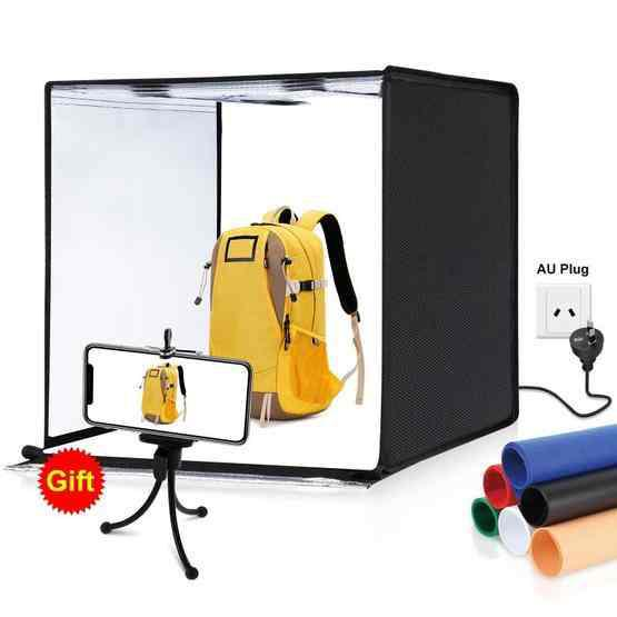 B//W Photography Backdrop Mini Photo Studio LED Lighting room Box Portable Tent