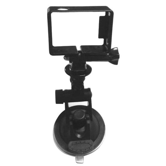 YKD -116 2 in 1 Suction Cup Mount + Frame Mount Set for GoPro HERO4 /3+ /3 - 7