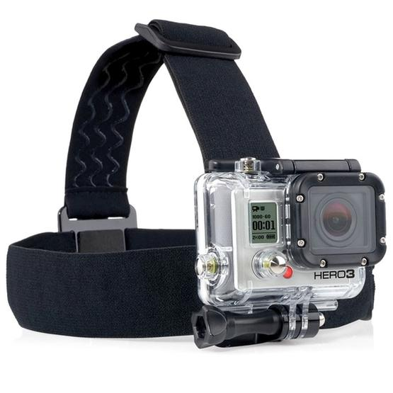 YKD-106 7 in 1 Chest Belt + Wrist Belt + Head Strap + Floating Bobber Monopod + Remote Wrist Belt + Carry Bag Set for GoPro NEW HERO /HERO7 /6 /5 /4 /3+ /3 /2 /1 / SJ4000 - 7