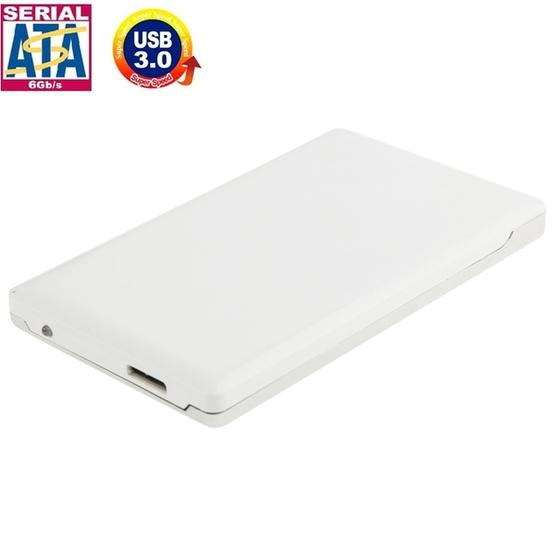 High Speed 2.5 inch HDD SATA & IDE External Case, Support USB 3.0(White) - 1