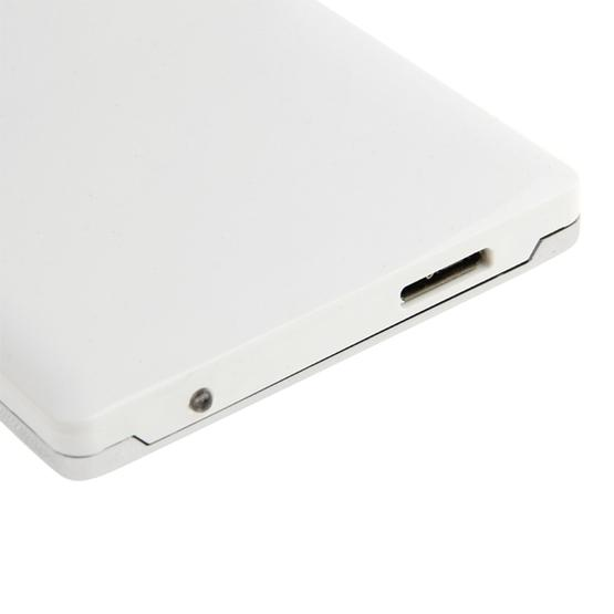 High Speed 2.5 inch HDD SATA & IDE External Case, Support USB 3.0(White) - 5