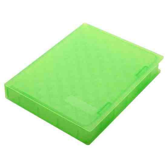 2.5 inch Hard Disk Drive Store Tank(Green) - 2