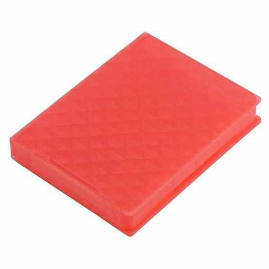 2.5 inch Hard Disk Drive Store Tank(Red) - 2