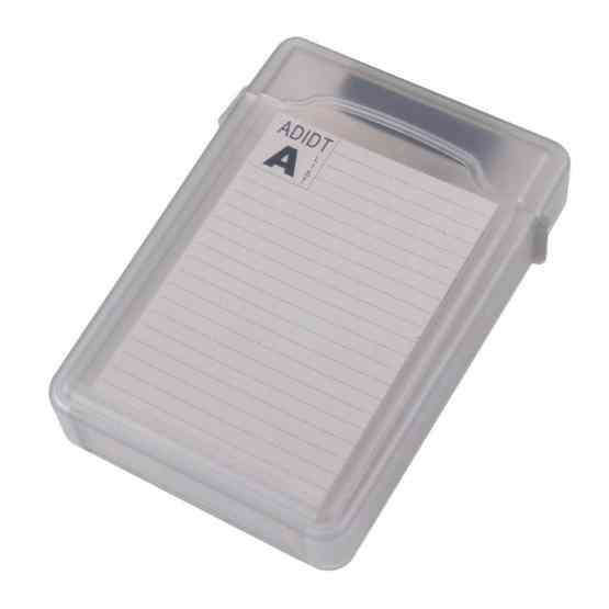 3.5 inch Hard Drive Disk HDD SATA IDE Plastic Storage Box Enclosure Case(Grey) - 3