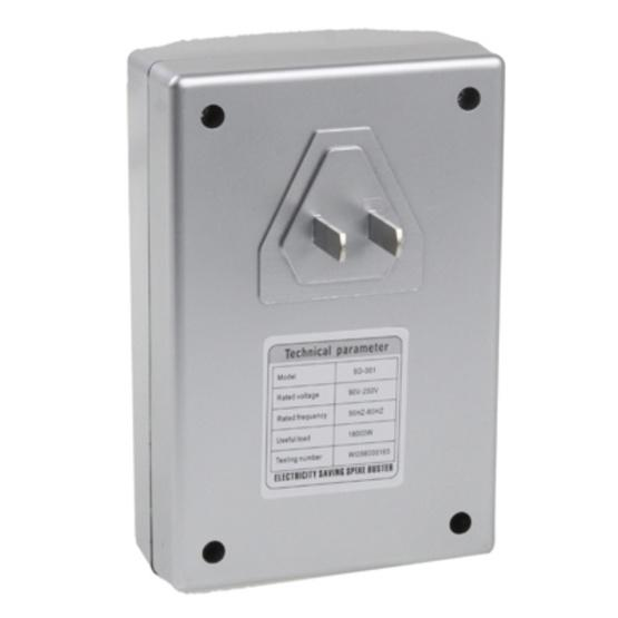 SD-001 Super Intelligent Digital Energy Saving Equipment, Useful Load: 18000W (US Plug) - 3