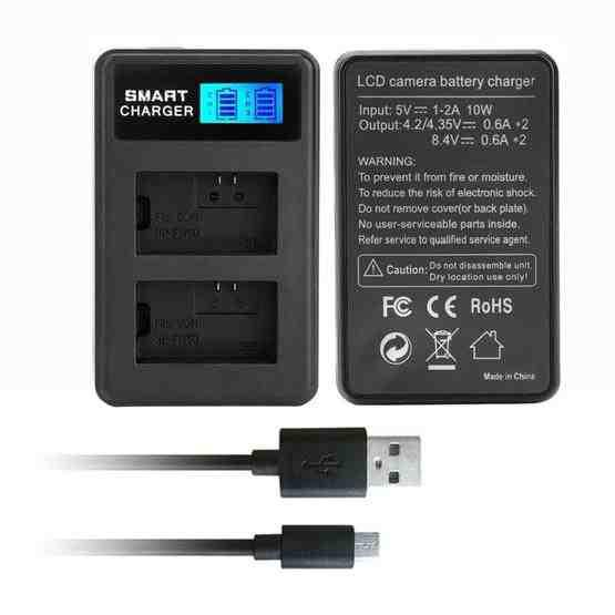 For Sony NP-FW50 Smart LCD Display USB Dual Charger - 1