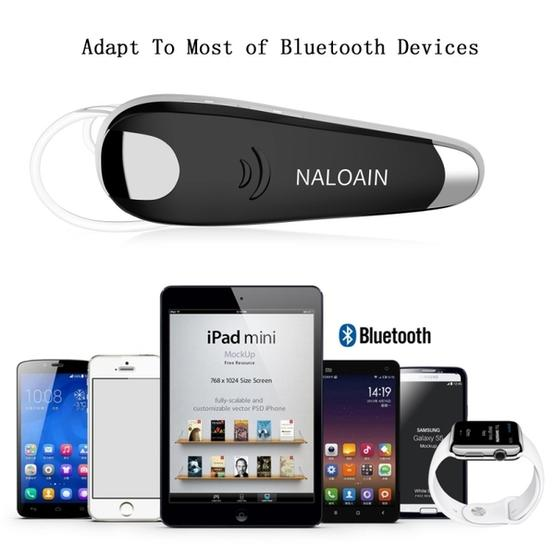 SP-006 Business Handsfree Wireless Bluetooth Earphone with Microphone for  iPhone Samsung(Gold)