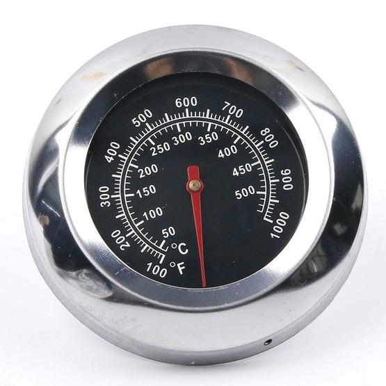 Outdoor Stainless Steel Barbecue Oven Thermometer - 3