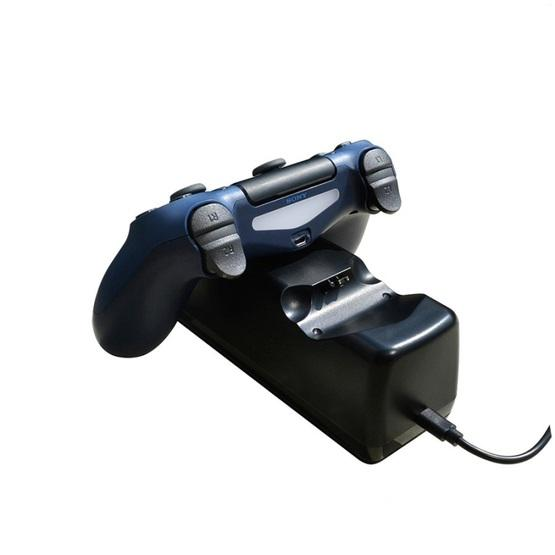 USB Dual Charger Dock Station with LED Indicator for PS4 Wireless Controller(Black ) - 5