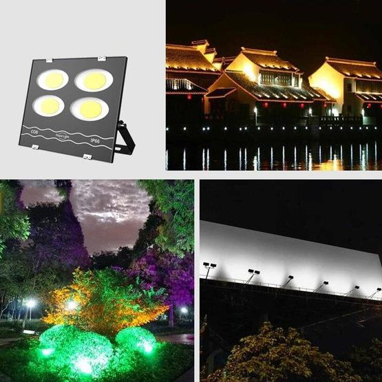 600W LED Waterproof Outdoor Searchlight Floodlight Warehouse Factory Building Flood Light(White Light) - 8