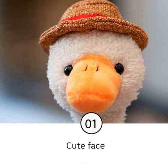 Repeat Duck Tricky Duck Learn Talking Singing Plush Duck Toy, Style:Interactive Ver. - 5